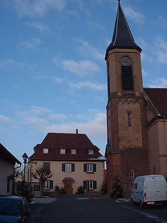 Saint-Pierre, Bas-Rhin - Image: SAINT PIERRE 67140