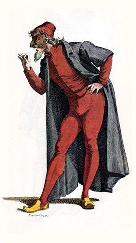 Pantalon vu par Maurice Sand, 1860.