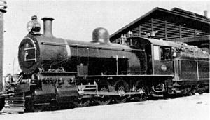 South African Class Experimental 3 2-8-0 - CGR Tandem Compound no. 839 SAR Class Experimental 3 no. 909