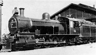 South African Class Experimental 3 2-8-0 - CGR Tandem Compound no. 839 SAR Class Experimental 3 no. 909