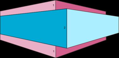 solid white board