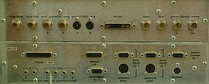 SGI Onyx - Onyx IO Ports