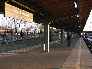 SKM train station Sopot Wyścigi.JPG