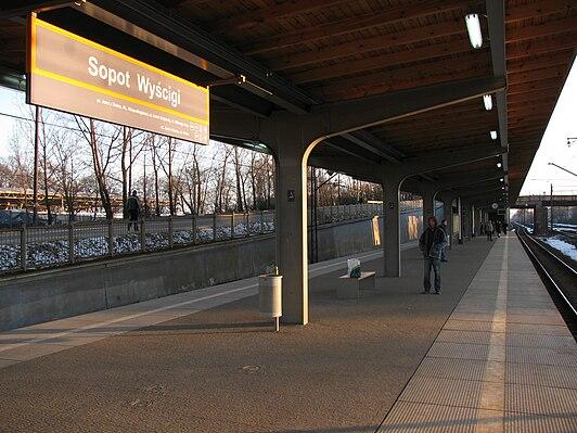 Sopot Wyścigi railway station