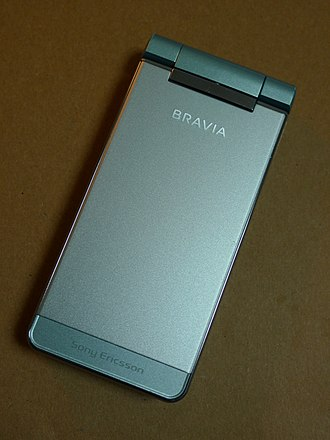 Bravia (brand) - BRAVIA-branded Sony Ericsson smartphone for the Japanese market (Docomo FOMA SO906i, released 2008)