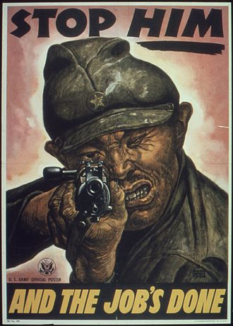 Society of Illustrators - Poster illustration by Society Member Harry Morse, 1945 for the Office of War Information