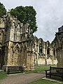 ST Mary's Abbey Remains taken in Museum Gardens .York.jpg
