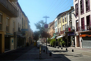 Saint-Laurent-de-la-Salanque - The Arago street, in Saint-Laurent-de-la-Salanque