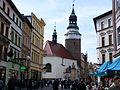 Saint Anne chapel and Wojanowska tower in Jelenia Góra bk1.JPG
