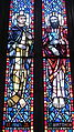 Saint Anthony of Padua Catholic Church (Dayton, Ohio) - stained glass, Sts. Matthew & James the Less.JPG