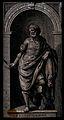 Saint Bartholomew. Line engraving. Wellcome V0031667.jpg
