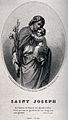 Saint Joseph. Line engraving. Wellcome V0032344.jpg
