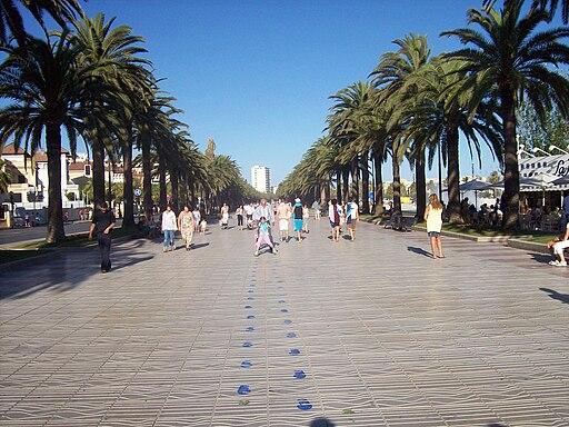 Salou boulevard