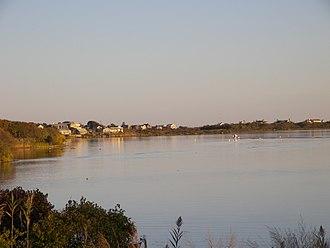 Charlestown, Rhode Island - A salt pond in the town