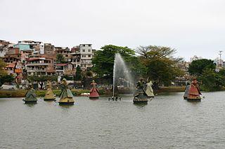 conjunto escultórico do Parque do Dique do Tororó