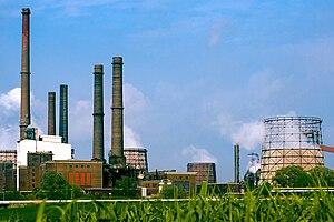 Salzgitter - Steel plant of Salzgitter AG