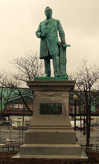 George Edwin Bissell - Image: Sam Sloan Statue