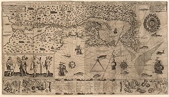 History of New Brunswick - New France, 1612.