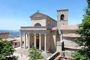 Basilica di San Marino - View of Basilica di San Marino