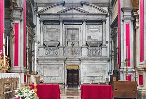 Catherine Cornaro - Image: San Salvador Interno Monument to Catherine Cornaro