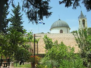 Katamon - Greek Orthodox St. Simeon Monastery in Katamon