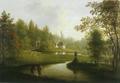 Sanderumgaard Johanneslyst 1815 Samuel Mygind.png