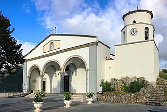 Maratea - The basilica of Saint Blaise