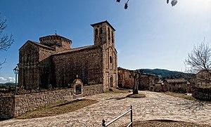 Sant Jaume de Frontanyà - Parish church