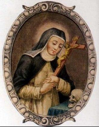 Chiara Gambacorti - Image: Santa chiara gambacorta 210x 300