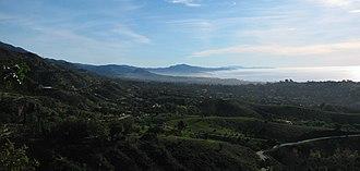 Montecito, California - Image: Santa Barbara Montecito (cropped)
