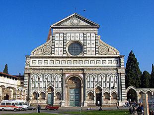 c1cd43f18a Facciata di Santa Maria Novella (dal 1456)