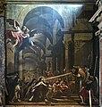 Santa Maria degli Scalzi (Venice) - Miracolosa comunione du santa Terese di Gesu - Niccolò Bambini.jpg