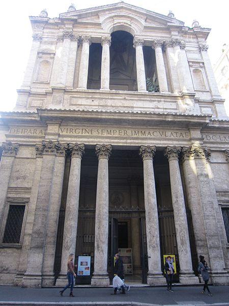 Rome Chrétienne et ses monuments - EUGENE DE LA GOURNERIE - 1867 450px-Santa_Maria_in_via_Lata_IMG_4846