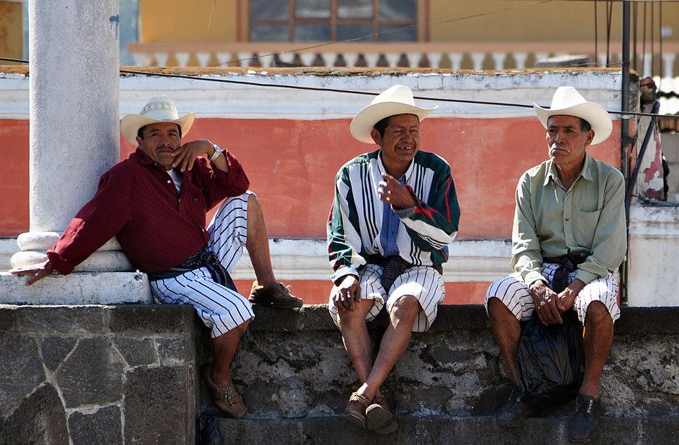 Santiago de atitlan natives 2009