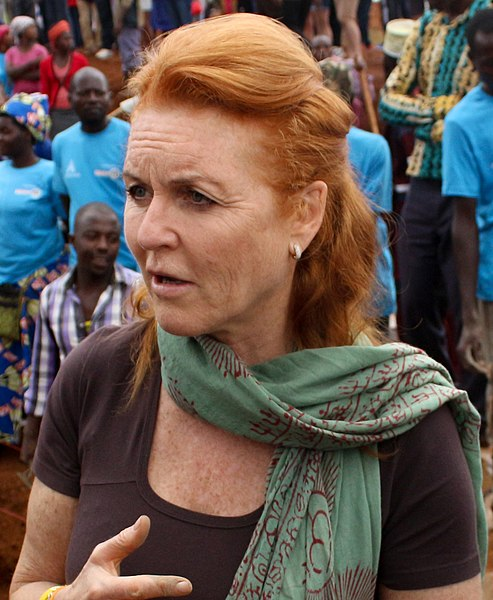 File:Sarah, Duchess Of York, Gahanga Cricket Stadium 1