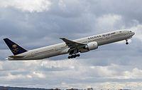 HZ-AK30 - B77W - Saudi Arabian Airlines