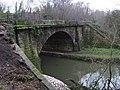 Sawmills - railway bridge over River Amber - geograph.org.uk - 1124789.jpg