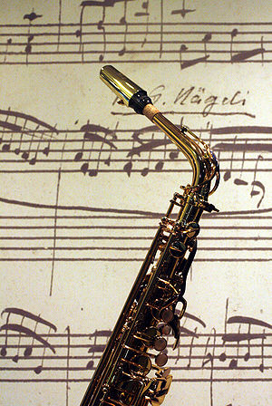 English: Saxophone