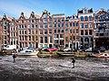 Schaatsen op de Prinsengracht in Amsterdam foto10.jpg
