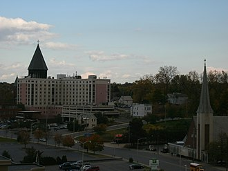 Mohawk Valley region - Image: Schenectady skyline