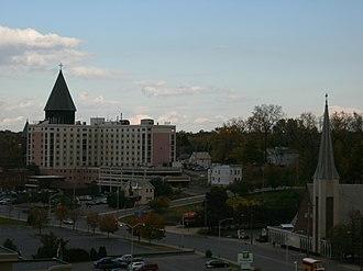 Mohawk Valley - Image: Schenectady skyline
