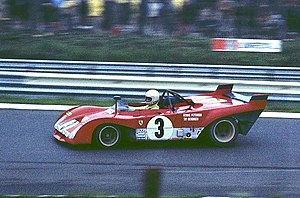 Group 5 (racing) - Group 5 Ferrari 312PB competing in the 1972 World Championship for Makes