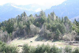 Sagogn - Image: Schiedberg Hügel