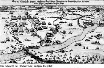 Battle of Höchst (contemporary leaflet)