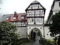 Schloss Schöckingen, burgartige Schlossanlage aus dem 15.-18. Jahrh., Schloss nach Zerstörung 1760 neu aufgebaut - panoramio.jpg