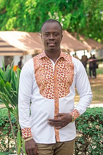 Scofray Nana Yaw Yeboah Ghanaian writer, columnist, author and transformational speaker, media analyst and consultant