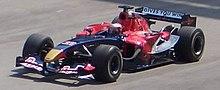 Speed sulla sua Toro Rosso al secondo Gran Premio di Formula 1 del 2006, in Malesia