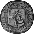 Seal of Allan, son and successor of John Moydartach.png