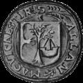 Seal of Allan, son and successor of John Moydartach.png