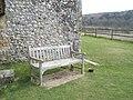 Seat outside St Hubert's, Idsworth - geograph.org.uk - 1230318.jpg